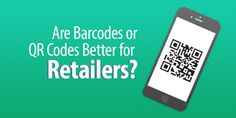 Are barcodes or QR codes better for your retail business? We'll look at the benefits of both and pick a winner in their head-to-head inventory and sales management battle. Retail Technology, Management, Coding, Wellness, Qr Codes, Business, Blog, Blogging, Store