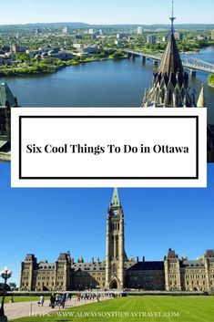Ottawa, the capital city of Canada, offers visitors many culture and history experience. Be sure to check out six unique activities in Ottawa.