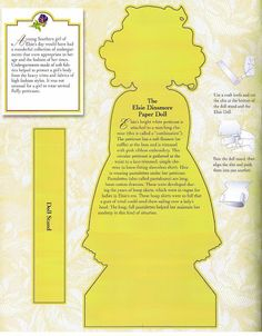 Elsie's Paper Doll Collection, Robin Woods, designer - A Life of Faith Product, 2004: Page 3 (of 36)