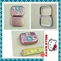 Small Hello Kitty Tin Box for your knick knacks! Small Hello Kitty Tin Box for your tiny knick knacks! Hello Kitty Jewelry