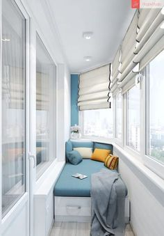60 Best Window Seat Design Ideas - ann deguefe - Fitness and Gym Small Apartments, Small Spaces, Home Interior Design, Interior Decorating, Decorating Ideas, Modern Interior, Interior Balcony, Interior Paint, Dressing Design