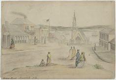 [Williams, John] d 1905 :Princes Street, Auckland, N. Auckland, New Zealand, Prince, History, Street, Places, Historia, Walkway, Lugares