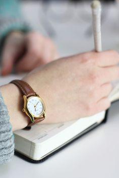 Casio Cat Leather Watch
