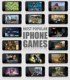 Most popular iphone games