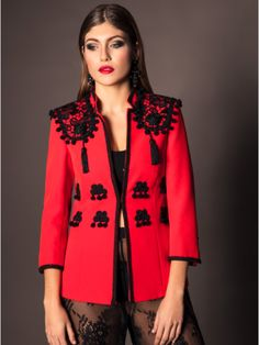 Blouse Styles, Blouse Designs, Night Outfits, Winter Outfits, Military Inspired Fashion, Flamenco Costume, Classic Suit, Origami Fashion, Abaya Fashion