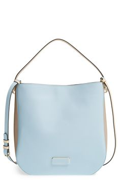 The dreamy pastel blue shade makes this hobo the perfect summer bag | Marc Jacobs.