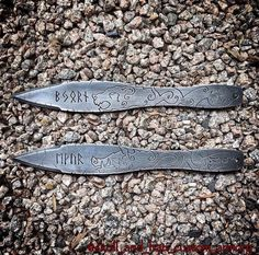 Custom Cold Steel Throwing Knives
