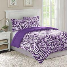 .@roomsforeva | Purple zebra bedroom | Webstagram - the best Instagram viewer