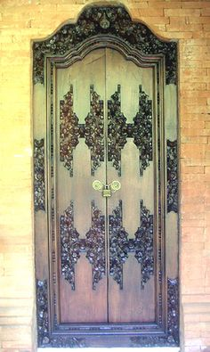 #Doors from around the world inspiration ideas for your #renovation project -- Bali doors http://www.myrenovationstore.com Please Repin - Thank You:)