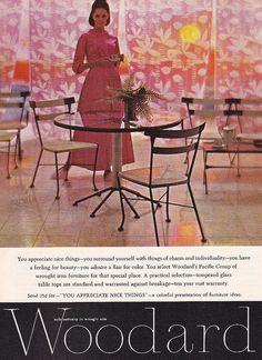 Woodard Furniture Ad (1966)