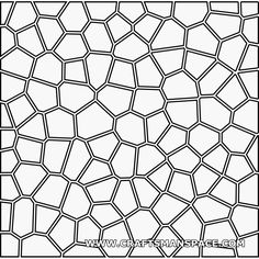 Voronoi 2D pattern (with offset)
