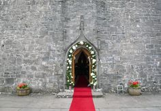 Ballintubber Abbey is an abbey northeast of Ballintubber, Mayo in Ireland that was founded by King Cathal Crobdearg Ua Conchobair in Entrance, Home Decor, Entryway, Interior Design, Home Interior Design, Doorway, Home Decoration, Decoration Home, Interior Decorating