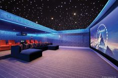 Home theater lighting is essential in forming a unique atmosphere in that space. Home theater lighting consists of anything. Home Theater Lighting, Home Lighting Design, At Home Movie Theater, Home Theater Rooms, Home Theater Seating, Cinema Room, Cinema Theater, Theater Seats, Custom Lighting