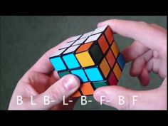Solving the Rubik's Cube, part 3: The Middle Layer - YouTube