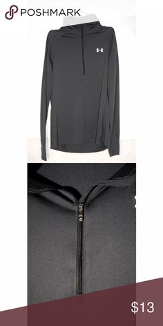 🏃‍♀️ATHLETIC 🏃‍♀️🔥UNDER ARMOUR GREY PULLOVER 🔥 NEVER WORN GREY PULLOVER!!! SIZE MEDIUM AND SO NICE LING SLEEVE HALF ZIP. WORN GREAT WITH LEGGINGS AND YOUR FAVORITE PAIR OF TENNIS SHOES! 👟👟👟 Under Armour Jackets & Coats