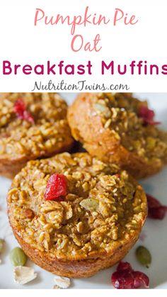Easy To Make Breakfast, Healthy Breakfast Muffins, Breakfast Recipes, Healthy Oatmeal Muffins, Breakfast Options, Breakfast Bars, Brunch Recipes, Dinner Recipes, Healthy Snacks