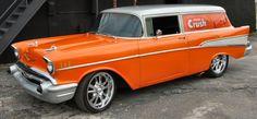 Orange Crush - 1957 Chevrolet Sedan Delivery Wagon Street Rod