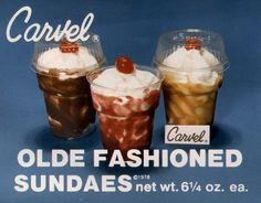 Olde Fashioned Sundaes #carvel
