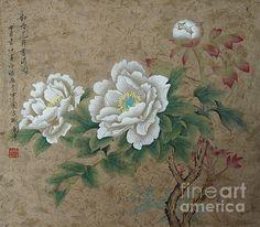 #whiteroses #orientalstyle