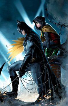 Batman et Robin - Batman Poster - Trending Batman Poster. - Batman et Robin Plus Arte Dc Comics, Dc Comics Art, Batman Robin, Robin Dc, Batman Batman, Robin Bird, Posters Batman, Batman Artwork, Batman Fan Art