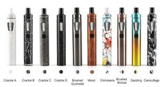 "In this video we take a look at the new Joyetech eGo AIO starter kit. This is an ""all in one"" kit that has a built in 1500 mah battery and uses Cubis coil heads. Buy this product Drip Tip, Bons Plans, Starter Kit, Vape, Consumer Electronics, All In One, Smoke, Electronic Cigarettes, Colors"