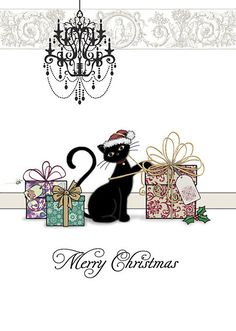 BugArt Christmas Kitty ~ Christmas Gifts. CHRISTMAS KITTY Designed by Jane Crowther.