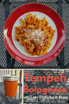 Quick Tempeh Bolognese with Pasta | xtinaluvspink.wordpress.com