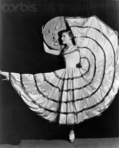 """1926: Ginger Rogers, fifteen, performs """"The Valencia"""" in Vaudeville."""