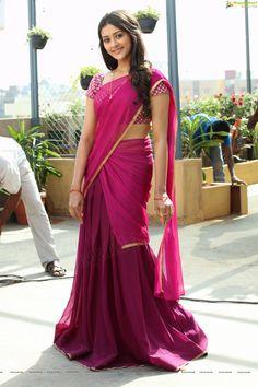 Pooja Jhaveri Glam Stills - Dwaraka Movie Heroine Pooja Jhaveri Photos Beautiful Women Over 40, Beautiful Girl Photo, Beautiful Girl Indian, Most Beautiful Indian Actress, Beautiful Saree, Beautiful Gorgeous, Dress Indian Style, Indian Dresses, Lehenga Saree Design