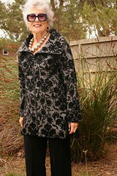 """Marcy Tilton patterns for Vogue 2 jacket lengthened 10"""" (check into this site more)"""