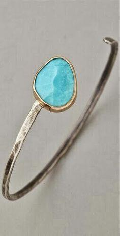 simple, elegant cuff bracelet