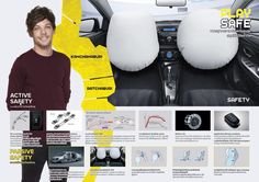 Louis // One Direction for Toyota VIOS - Thailand