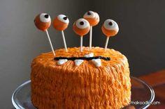 Spooky Monster Cake