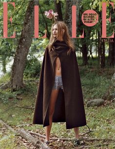 Behati Prinsloo for Elle Italy - October 2013