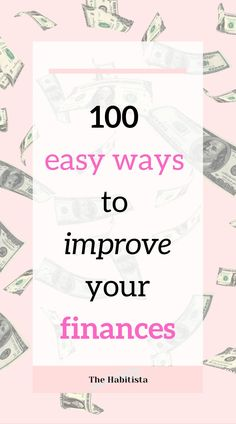 100 easy ways to have more money that will supercharge your finances without depriving you of the good things in life. Especially check out # 11! money saving ideas | personal finance blog | smart money How To Better Yourself, Improve Yourself, How To Become Smarter, Life Values, Finance Organization, Finance Blog, Managing Your Money, Living A Healthy Life, Saving Ideas