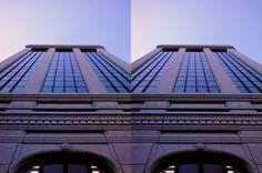 Odori Nishi 4 Building. (May 2013. Sapporo , Japan)