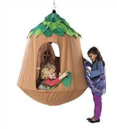 Woodland Wonderland Nature Haven HugglePod™ HangOut. Pin to win! Enter for your chance to win a $250 gift card at http://sweeps.piqora.com/magiccabinsummerimaginationsweepstakes Sweepstakes ends 5/20/14.