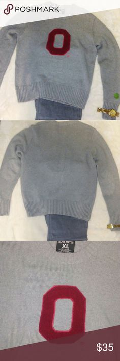 Ohio State Alma Mater XL Sweater  (Husky and Sexy) To all my brethren that Keep It Husky and Sexy And root for Ohio State, this is for You  Alma Mater XL Sweater. Excellent Condition Like New Tried on but not worn Ohio State Buckeye edition Alma Mater Sweaters Crewneck