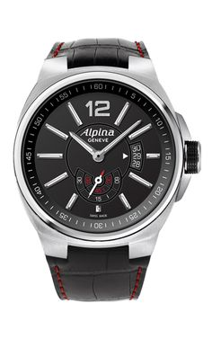 This stunning #Alpina watch with model number AL-535AB5AR26 is from the Racing Automatic collection. The appearance is brilliantly designed for Gents.