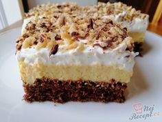 Czech Recipes, Cheesecake, Sweet, Desserts, Food, Candy, Tailgate Desserts, Deserts, Cheesecakes