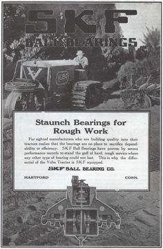 SKF Bearings 1917
