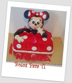 Bolo Minnie www.bolosparati.com www.facebook.com/pages/Bolos-para-Ti/489407764471826