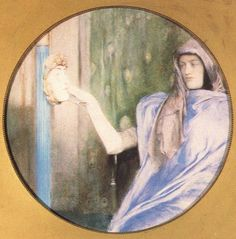 The Secret by Fernand Khnopff :: 1902