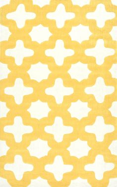 Rugs USA - Area Rugs in many styles including Contemporary, Braided, Outdoor and Flokati Shag rugs. Trellis Rug, Trellis Pattern, Yellow Rug, Yellow Area Rugs, Simple Geometric Designs, Contemporary Area Rugs, Contemporary Style, Rugs Usa, Nursery Rugs