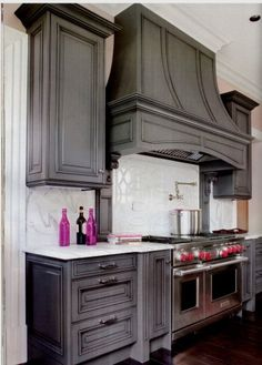 "Walker Zanger ""Paramount Pattern"", LOVE this stove/hood"