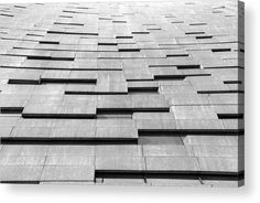 Close up structure of modern building. Acrylic Print by Denys Siryk. All acrylic prints are professionally printed, packaged, and shipped within 3 - 4 business days and delivered ready-to-hang on your wall. Modern Buildings, Modern Architecture, Thing 1, Tiles Texture, Acrylic Sheets, Clear Acrylic, High Gloss, Close Up, Fine Art America