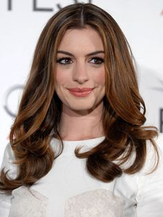 So, I have to be a brunette for my next show... He said a mid-tone brown, not too dark. I'm loving this shade. @Anna Totten María Pablos Johnson, I'm thinking maybe Thursday?