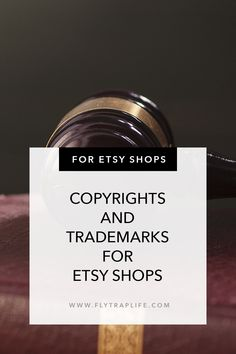 Copyrights and Trademarks for Etsy Shops - FlytrapLife Lawyer, Confused, Etsy Seller, Advice, Cards Against Humanity, Facts, Etsy Shop, Play, Writing