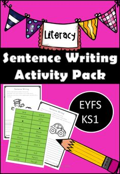 Sentence Writing Activity Pack