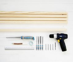 How to make your very own giant loom to weave up the biggest and most luscious, soft woven pieces again and again from just a few simple tools.
